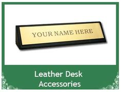 Leather Desk Accessories, Conference Room Accessory, Dining Room Accessories.   www.office-elegant.com