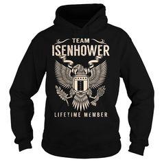 Team ISENHOWER Lifetime Member - Last Name, Surname T-Shirt