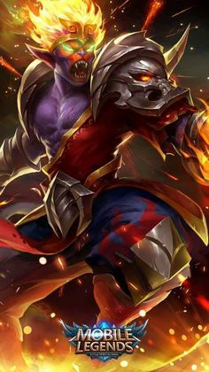 Wallpaper Sun Monkey King Old Skin Mobile Legends HD for Android and iOS Heroes Wallpaper, Wallpaper Mobile Legends, Mobile Wallpaper, Wallpaper Art, Latest Wallpapers, Hd Wallpapers For Mobile, Gaming Wallpapers, Phone Wallpapers, Alucard Mobile Legends