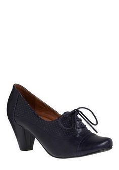 "Right Here Heel in Navy, #ModCloth very cute, makes me think old style ""office worker"". lol"