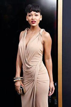 Meagan Good is fine Megan Good, Cool Short Hairstyles, Short Hair Styles, Black Celebrities, Celebs, Beautiful Black Women, Beautiful People, Beautiful Dolls, Black Girls Rock