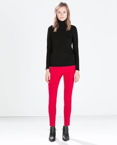 Image 1 of SUPERSTRETCH FIVE POCKET TROUSERS from Zara