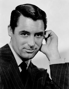 Cary Grant. Possibly my all-time favourite actor. The mix of handsome and funny can do nothing but create sexy. I loved his timing and his double takes. http://upload.wikimedia.org/wikipedia/commons/2/27/Grant,_Cary_(Suspicion)_01_Crisco_edit.jpg