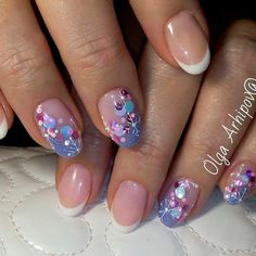 Best french manicure toes with design tips Ideas Elegant Nail Designs, French Nail Designs, Winter Nail Designs, Christmas Nail Designs, Cool Nail Designs, French Manicure Toes, French Nails, French Manicures, Holiday Nails