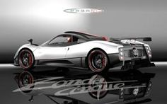 The 8 Most Expensive Cars in the World: Pagani Zonda Cinque: 1 million euros