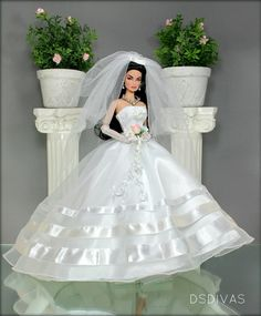 1..2 qw #barbie #wedding #dress [DsDiva via flickr]