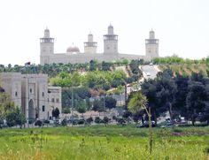Mezquita de Al-Hussin, en Amán, Jordania.