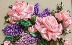 Delicadezas en crochet Gabriela: Curso de bordados en cintas
