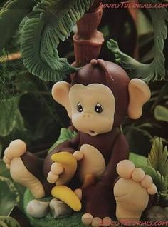 fondant monkey tutorial - Google Search