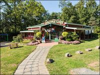 Campground in Lancaster. Stop by the Gnome Cafe for a leisurely lunch or dinner.