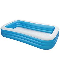 Intex Inflatable Swim Center Family Lounge Pool, 120 inch x 72 inch x 22 inch, White