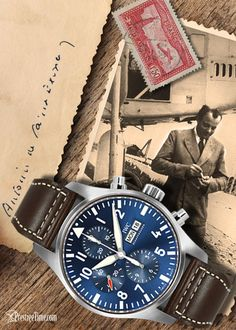 #Pilot #AntoineDeSaintExupery #IWC #IWCPilotWatch #LePetitPrince #TheLittlePrince