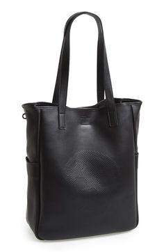 Alexander McQueen Skull Leather Tote Bag | Nordstrom