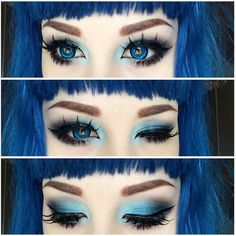 #Crystal #blueeyes from #SwedishBeauty @Mashyumaro wearing our #LashingOutLoud #Lashes #IamDolluxe #Dolluxe www.DOLLUXE.com