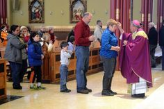 Norwich parishioners celebrate Ash Wednesday - It's Ash Wednesday again, meaning Catholics and others around the world begin the season of Lent with a smear of ashes and the promise of sacrifice. Read more: http://www.norwichbulletin.com/article/20150218/NEWS/150219491 #CT #Norwich #Connecticut #Lent #AshWednesday #Faith #Religion #Church