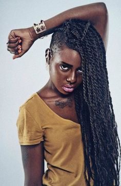 Senegalese twists! Lovelovelove
