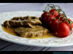 Kolorowa Kuchnia Magdy: Polędwica wołowa w sosie imbirowym