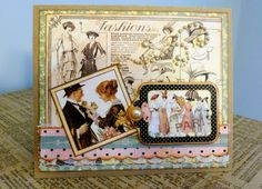 Ladies Diary collection by Graphic 45; one of my favs....