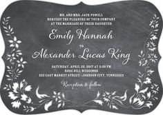 Dearest Daisies - Signature Laser Cut Wedding Invitations in Charcoal or Maple   Sarah Hawkins Designs