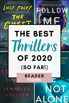 I've been on a huge thriller kick lately. So to my delight, this year's new book releases have been killing it in the thriller genre! Here are the best thrillers (books) in 2020 so far. Books You Should Read, Best Books To Read, New Books, Good Books To Read, Best Book Club Books, Fall Books, Book Suggestions, Book Recommendations, Good Thriller Books
