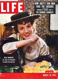 Julie Andrews 1956