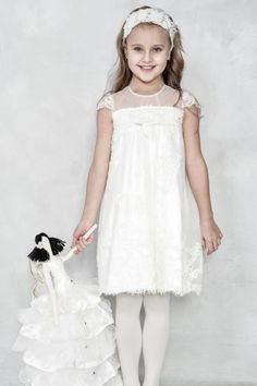 A super chic #flowergirl dress that your girl would love to wear!  Papilio Girls - Ceremony Collection.