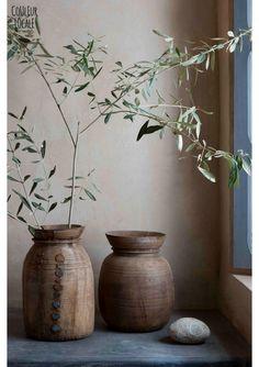Wooden Jar - Plates & Bowls & Vases  - Unique Items