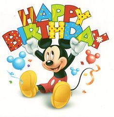 6 Round Mickey Mouse Happy Birthday Banner Birthday Edible Image CakeCupcake Topper *** Details can be found by clicking on the image. (This is an affiliate link) Disney Birthday Wishes, Happy Birthday Mickey Mouse, Happy Birthday Wishes Cards, Happy Anniversary Wishes, Happy Birthday Pictures, Art Birthday, Mickey Mouse And Friends, Birthday Cards, Disney Happy Birthday Images