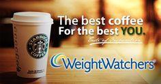 Weight Watchers Starbucks Coffee Drink Choices (with PointsPlus)