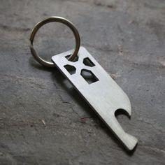 Church Key Bottle Opener Key Chain