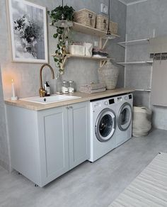 Home Improvements - Decorating Your Home is Taking Care of Your Home Laundry Room Cabinets, Laundry Room Organization, Laundry Room Design, Interior Design Living Room Warm, Living Room Designs, Laundry Room Inspiration, Home Decor Inspiration, Budget Home Decorating, Small Room Bedroom