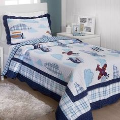 Barrado Boy Quilts, Baby Room, Comforters, Blanket, Bed, Kilts, Furniture, Home Decor, Pillows