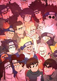 The- 暁 -Akatsuki Anime Naruto, Naruto Funny, Naruto Shippuden Anime, Shikamaru, Naruto Art, Anime Manga, Akatsuki, Jojo's Bizarre Adventure, Anime Lock Screen
