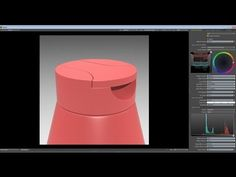 ▶ Luxology Modo - Modeling the top of a Ketchup Bottle - Part 1 - YouTube