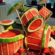 Watermelon DrumSet