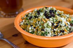Detox Salad - Packing a powerhouse of nutrients, this light & energizing salad will have you bursting with energy.