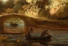 Rembrandt 'The Stone Bridge' c. 1638