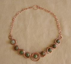 More Rhyolite in Circles (Customer Design) - Lima Beads