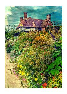 great dixter gardens on Behance