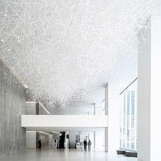 #tokujinyoshioka #prismatic_cloud #installation #contemporaryart #sculpture #houston #allencenter #prism #designboom #dezeen #吉岡徳仁…