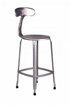 Sweet version of industrial stool. Thinking about it for little counter by the back window where I will enjoy my coffee.