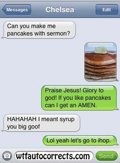 God Save the Pancakes AutoCorrect