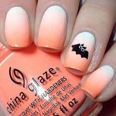 unhas para hallowen usando laranja. unhas para halloween. nail art para halloween. Dia das bruxas. Unhas decoradas.