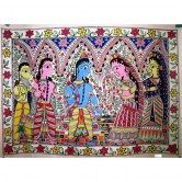 Ram & Sita Wedding Madhubani Paintings