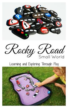 Learning and Exploring Through Play: Rocky Road Small World Outdoor Learning, Outdoor Play, Outdoor Games, Transport Topics, Curiosity Approach, People Who Help Us, Tuff Spot, Small World Play, Wheels On The Bus