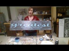 This is how I paint wood signs using a Cricut Explore, Vinyl and Chalk type paints. Give it a thumbs up if you like it and want to see more tutorials using C...