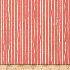 This listing is for ORGANIC Fabric - Coral Yarn Stripes From Birch Organic Fabrics Farm Fresh Collection by Jay-Cyn Designs. Birch Organic Fabrics is GOTS Certified (Global Organic Textile Standard) meaning every step of the process from growing the cotton, how the cotton is transported, how the cotton is milled, as well as only using low-impact environmentally friendly dyes, each step of the process has met these strict standards. 100% organic cottons, treated with love, not pesticides…