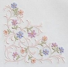 Marvelous Crewel Embroidery Long Short Soft Shading In Colors Ideas. Enchanting Crewel Embroidery Long Short Soft Shading In Colors Ideas. Border Embroidery, Embroidery Flowers Pattern, Learn Embroidery, Crewel Embroidery, Embroidery Thread, Embroidered Flowers, Floral Embroidery, Machine Embroidery Designs, Needlepoint Stitches