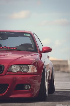 Dig this E46 M3! Nicely stanced!