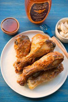 Spicy Honey Garlic Wings | Garlic, My Soul